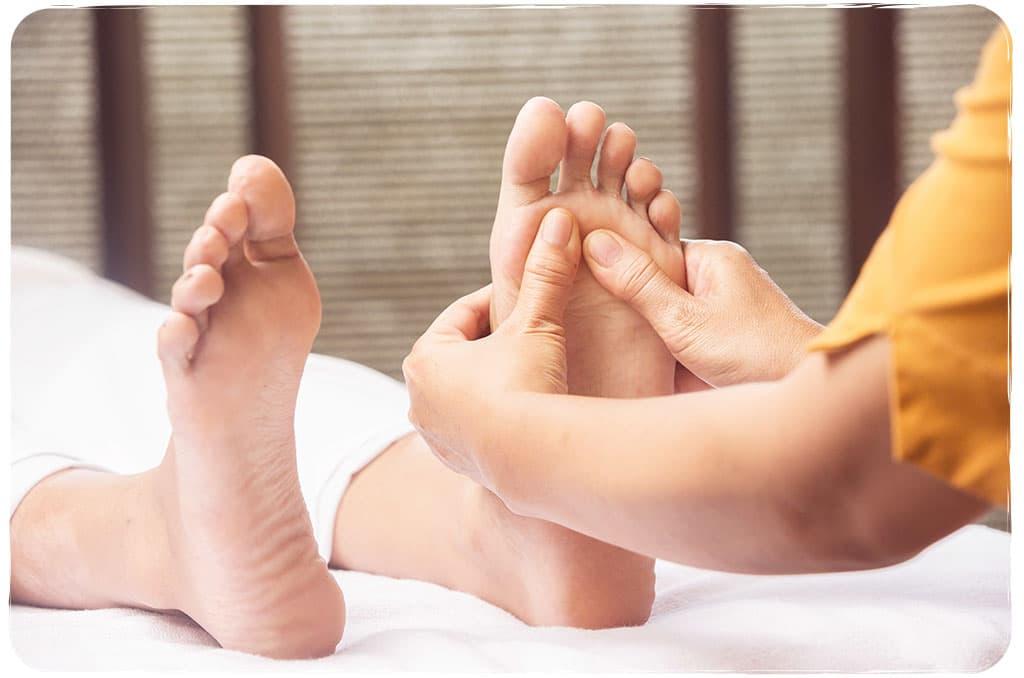 Réflexologie plantaire relaxation